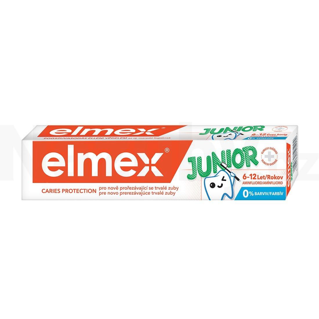 Elmex Junior 6-12 let, 75 ml