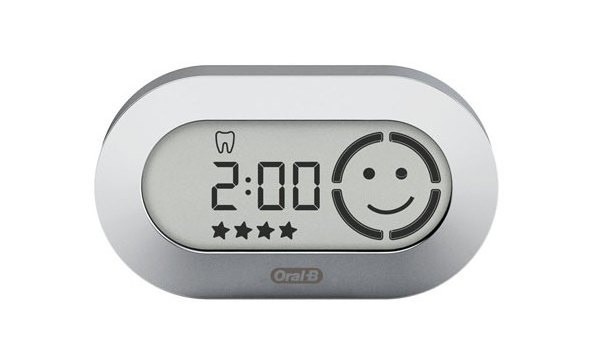 Braun Oral B náhradní display Smart Guide D36, stříbrný
