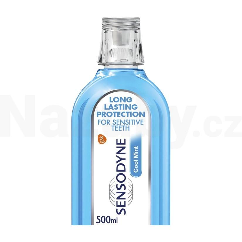 Sensodyne ústní voda Cool Mint 500ml