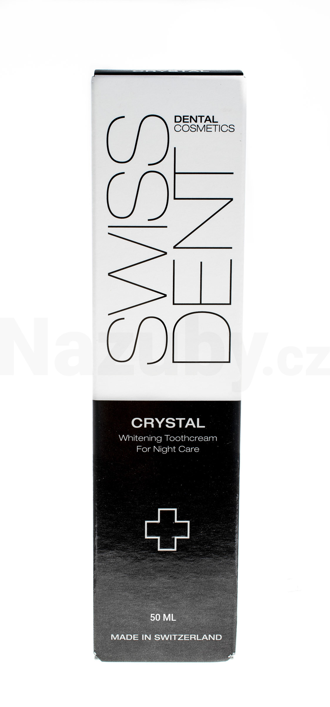Swissdent Crystal bělicí zubní pasta (Repair & Whitening Toothcream) 50 ml