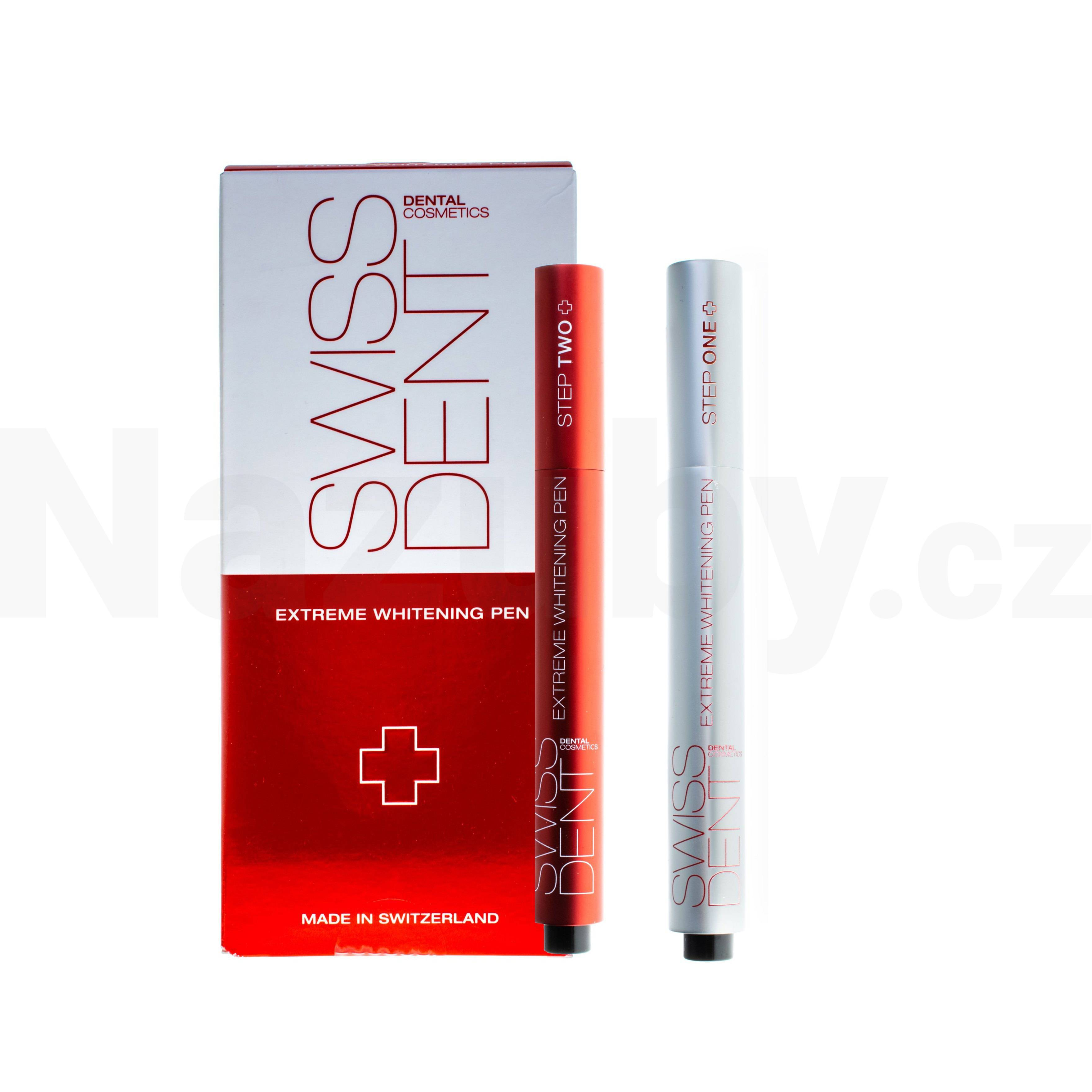 Swissdent Extreme Whitening Pen bělicí pero 2x3 ml