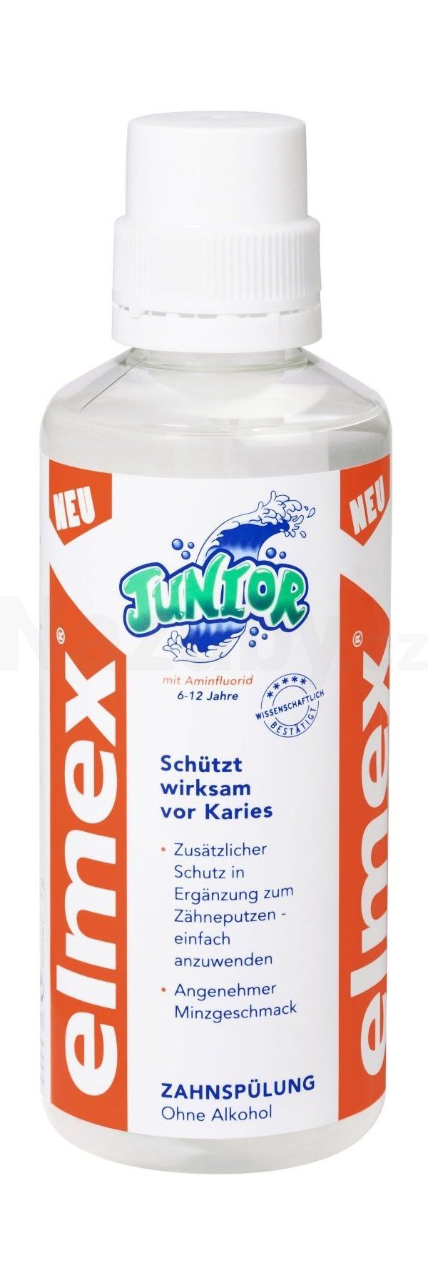Elmex Junior ústní voda 100 ml