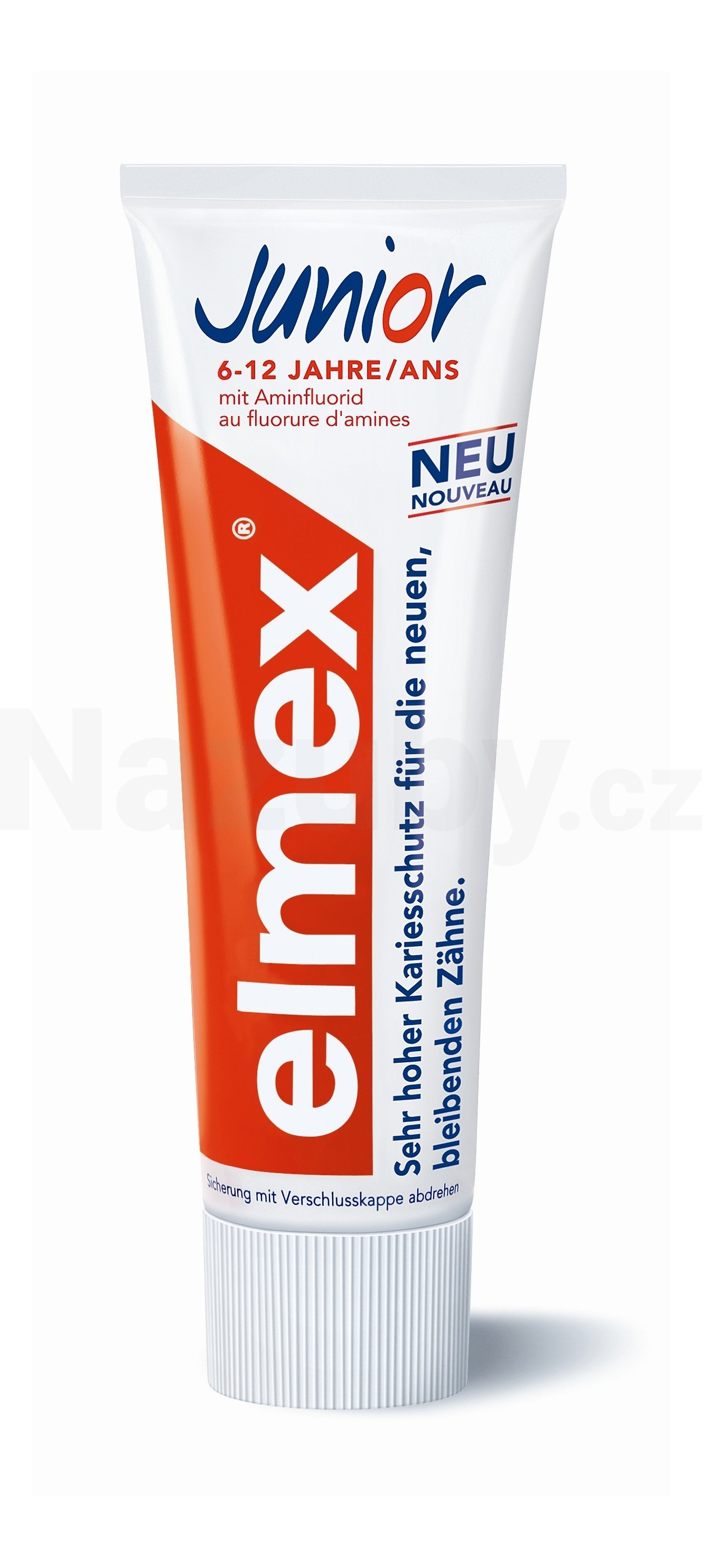 Fotografie Elmex zubní pasta Junior 12 ml