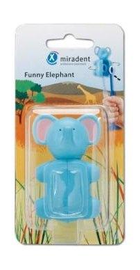 Miradent Funny držák na zubní kartáčky Slon