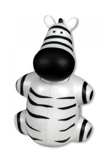 Miradent Funny držák na zubní kartáčky Zebra