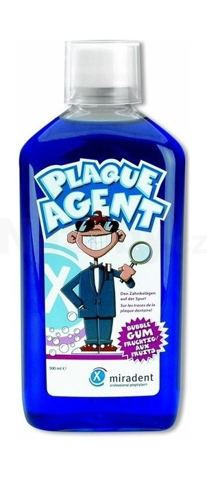 Miradent Plaque Agent roztok 500 ml
