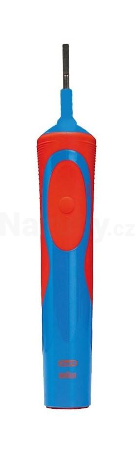 Braun Oral B náhradní tělo kartáčku D12 Vitality modrá/červená