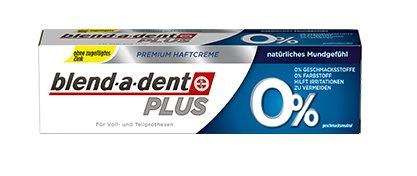 Blend-a-dent Plus 0% fixační krém bez příchutě