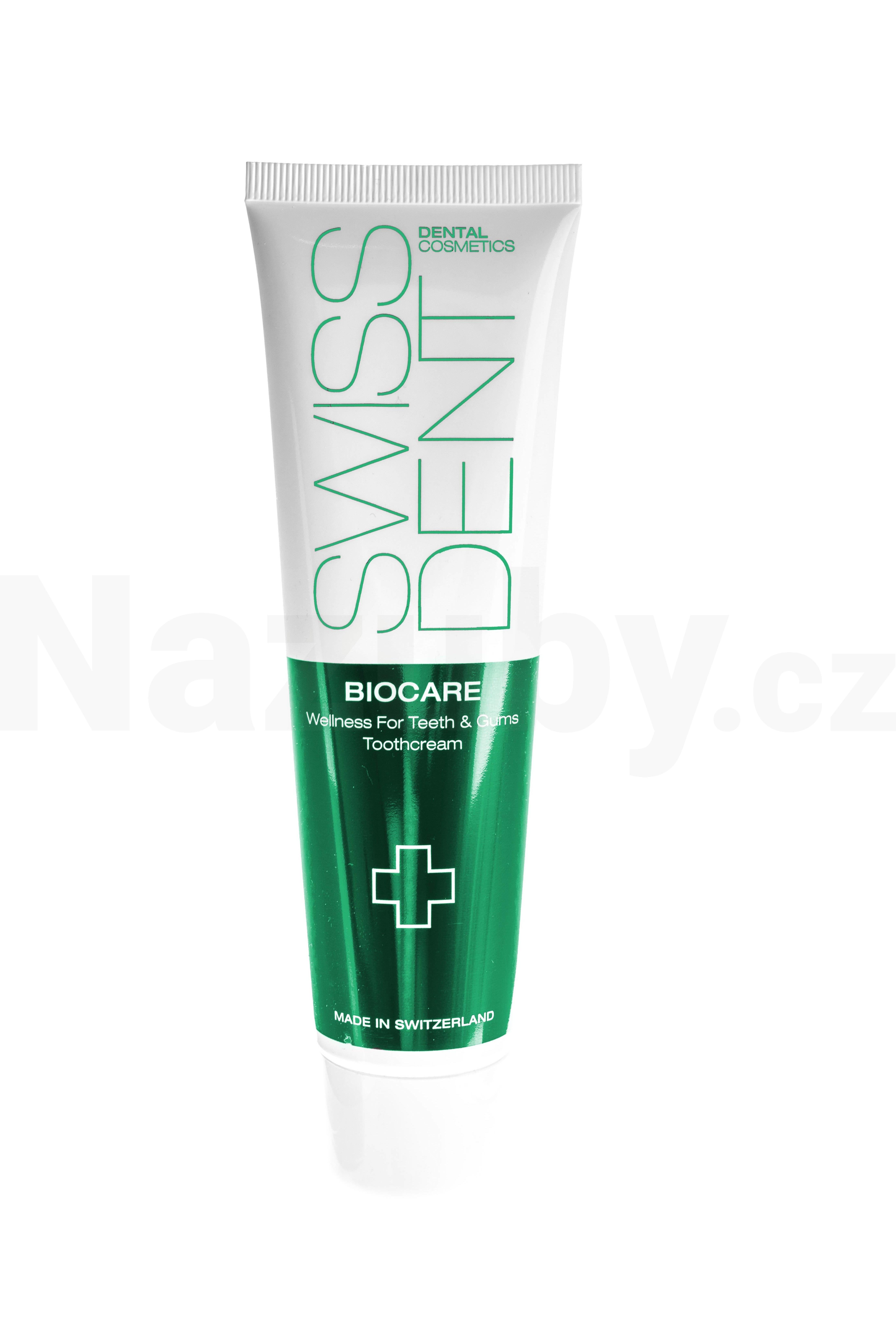 Swissdent Regenerační a zesvětlující zubní pasta Biocare Whitening Toothpaste 100 ml