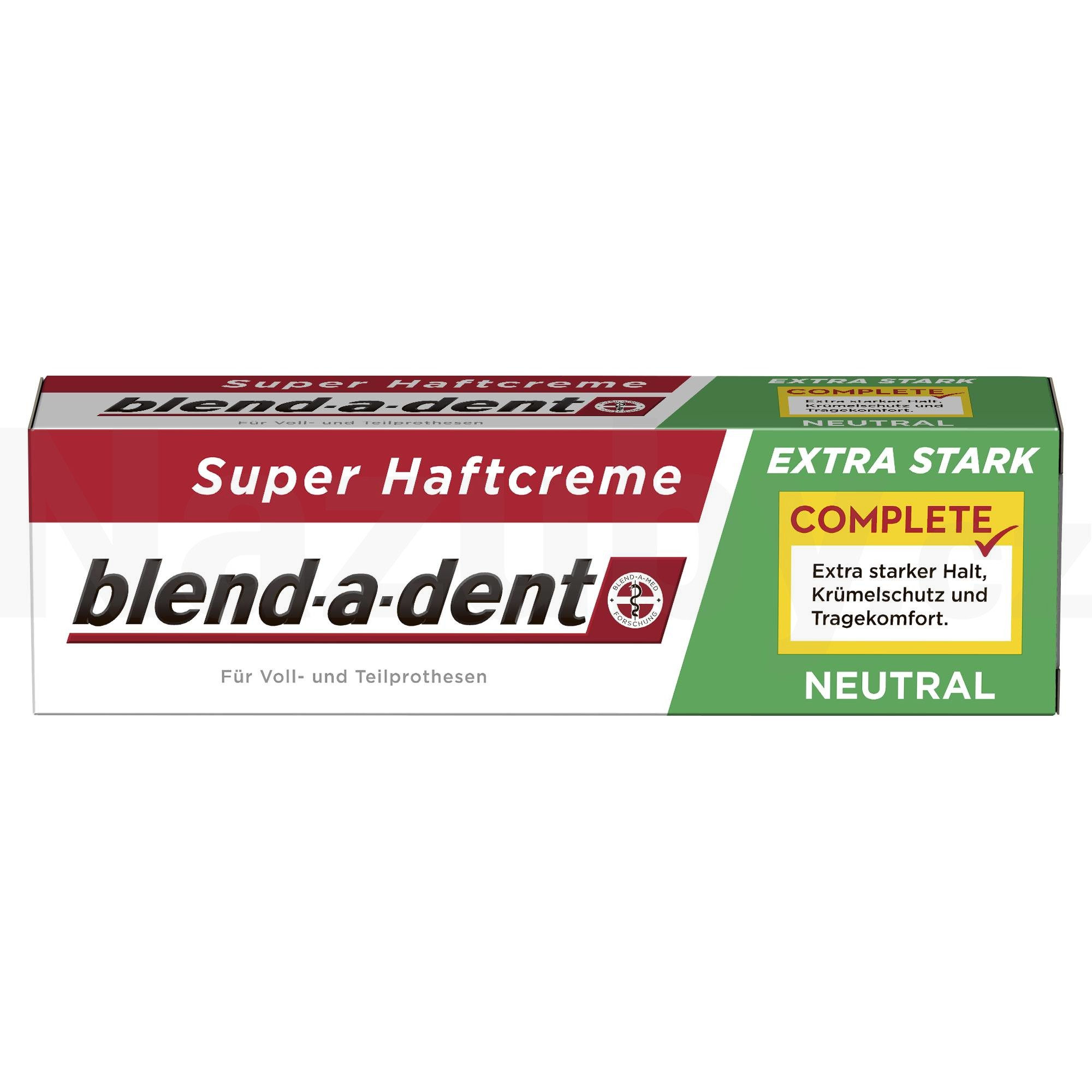 Fotografie Blend-a-Dent Neutral 47 g