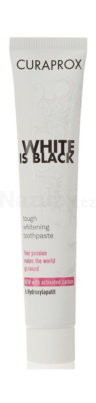 Curaprox White is Black bělící zubní pasta