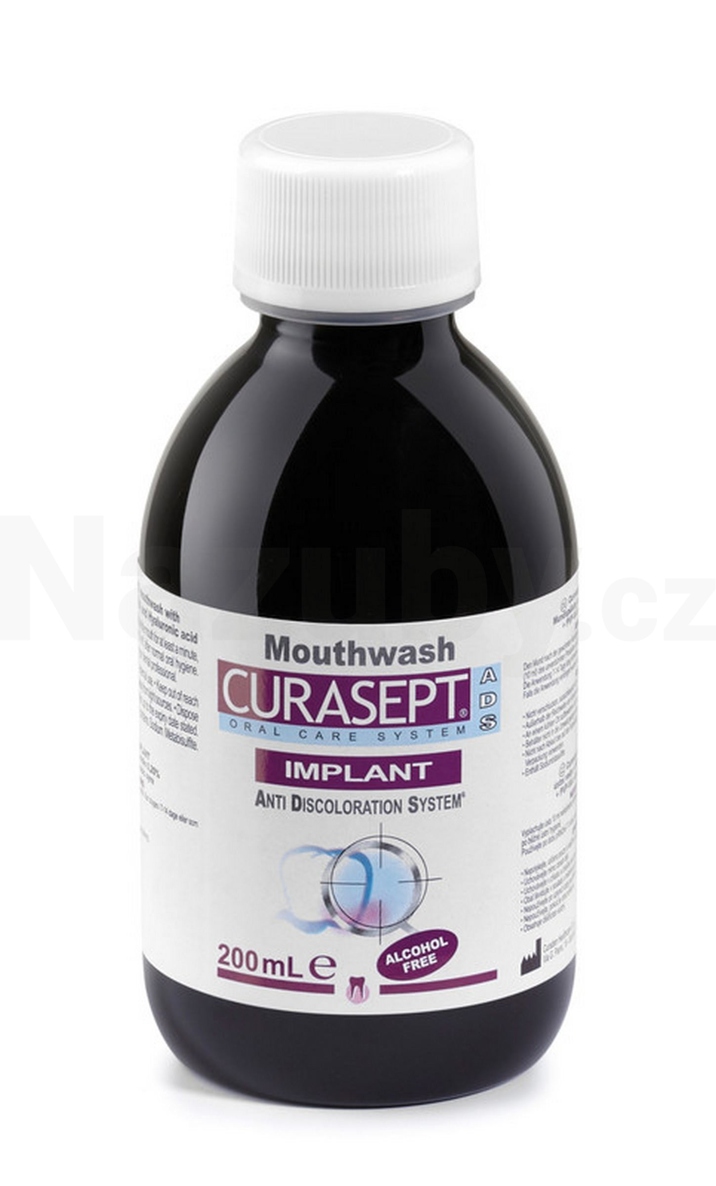 Curasept IMPLANT ústní voda 0,20% CHX 200 ml
