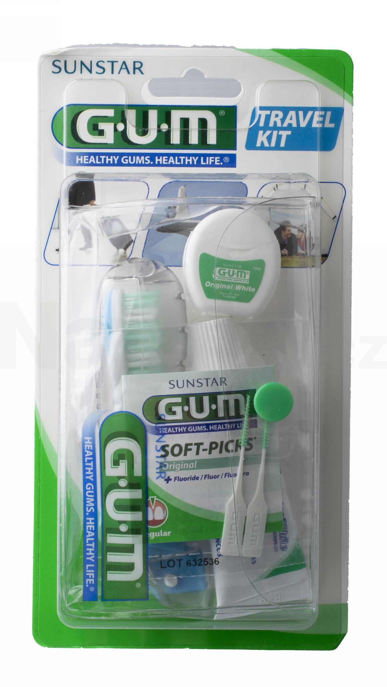 GUM Travel Kit sada na cestování
