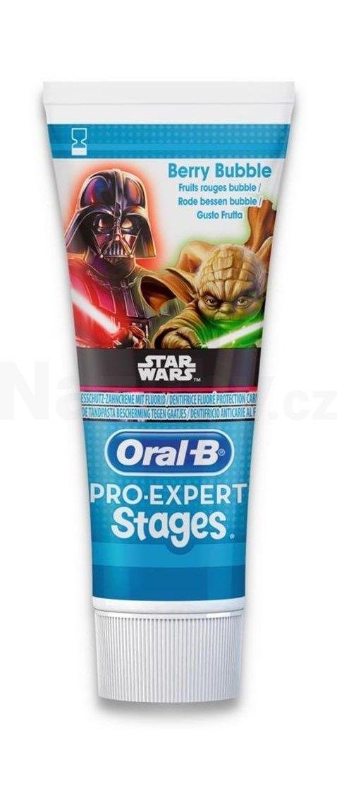 Oral-B Pro Expert Stages Star Wars dětská zubní pasta 75 ml
