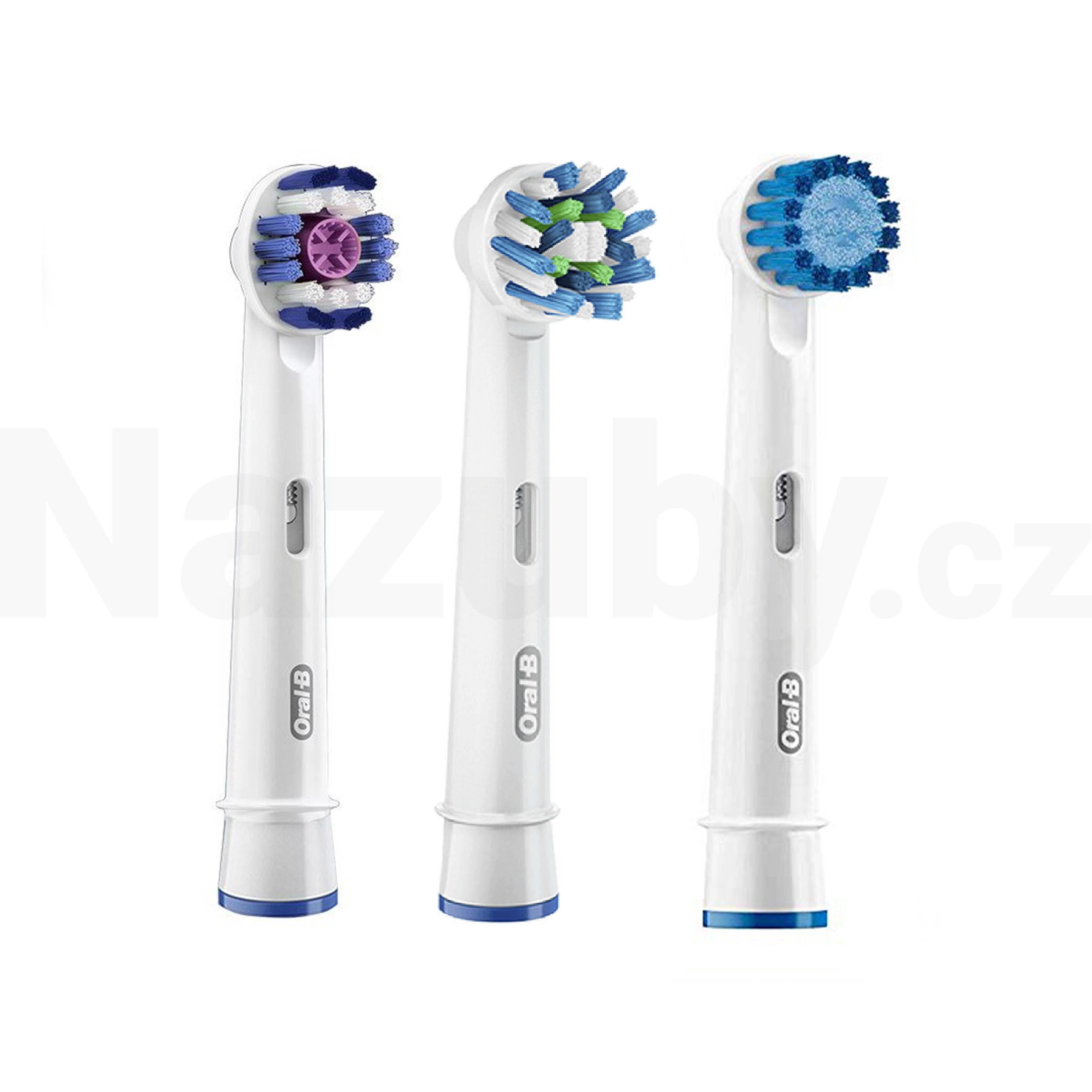 Braun Oral-B 3v1 Special Pack náhradní hlavice, 3ks