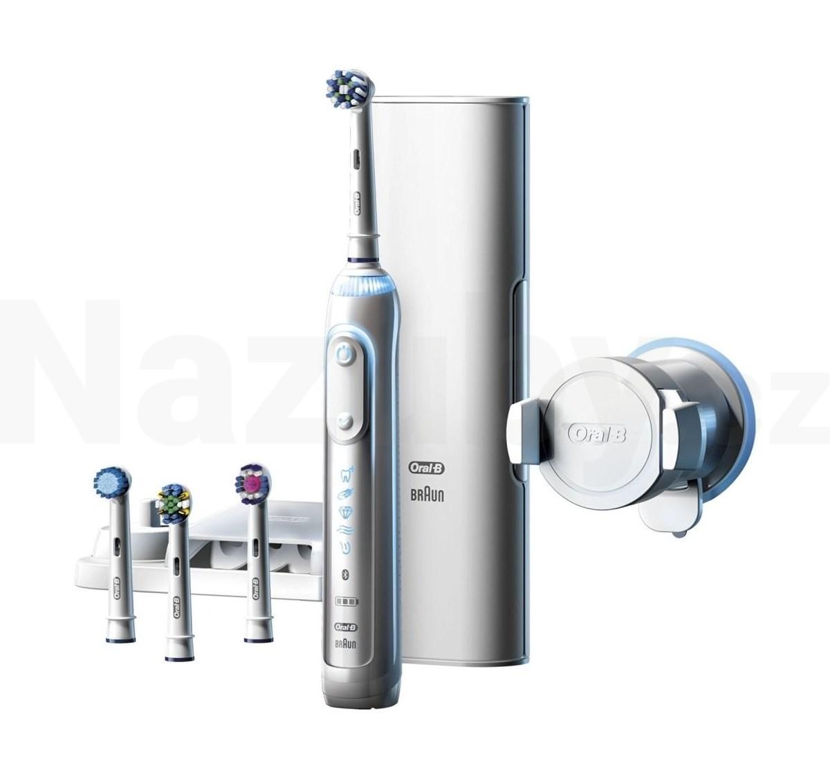 Braun Oral B Genius 9000 White - akce 100 dní na vrácení zboží