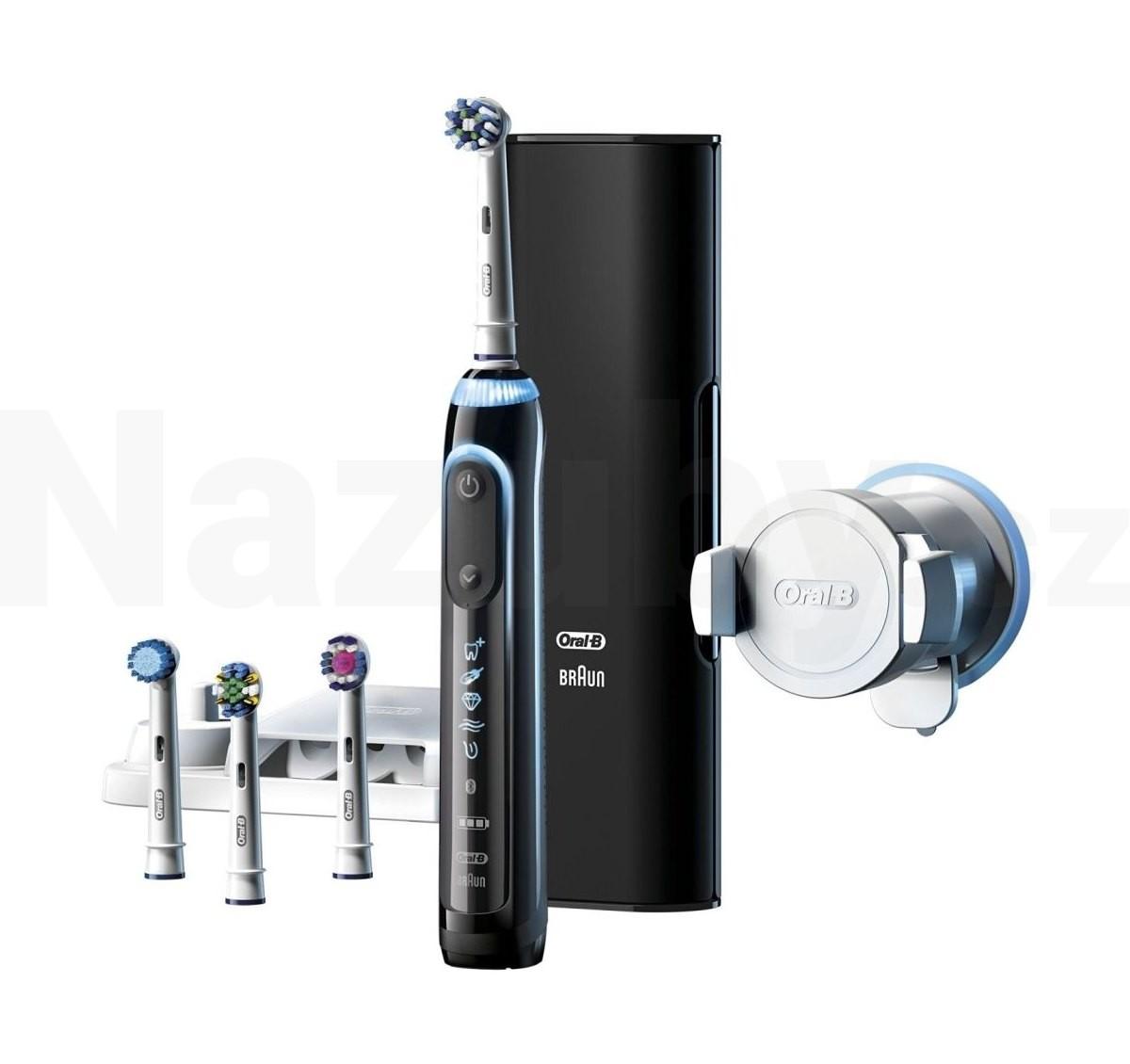 Braun Oral-B Genius 9000 Black - akce 100 dní na vrácení zboží