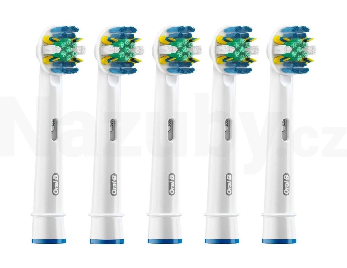 Braun Oral-B Floss Action MicroPulse EB 25-5 náhradní kartáčky 5 ks