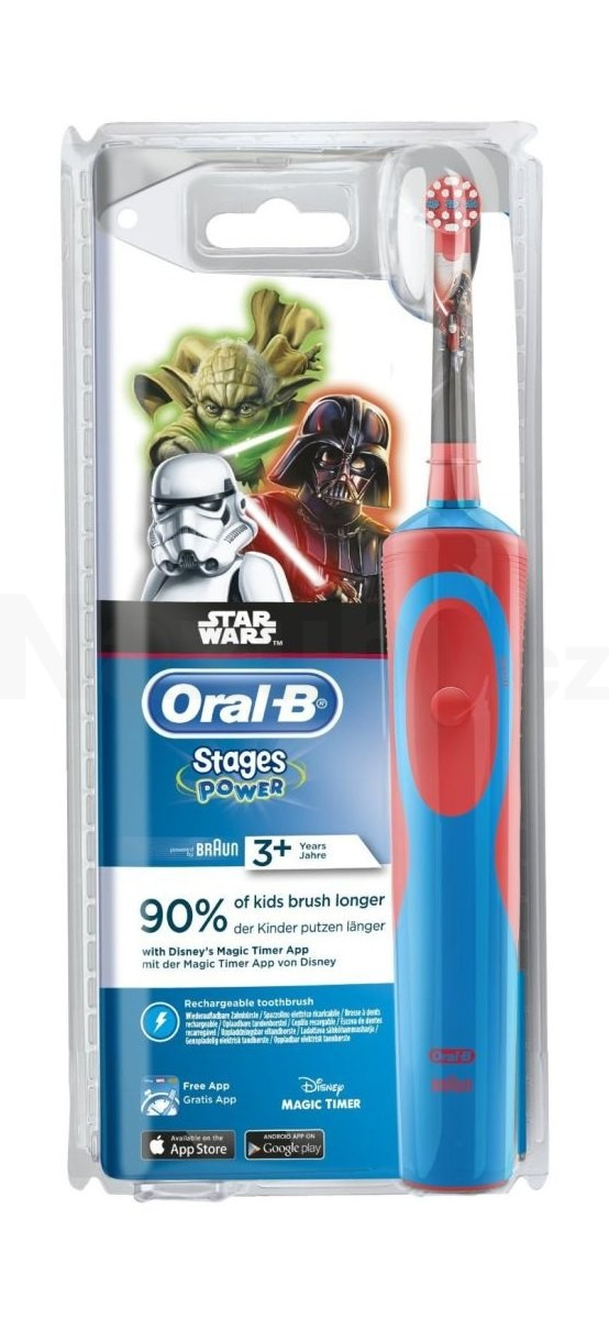 Braun Oral B Stages Power Kids 900 D12 zubní kartáček - STAR WARS