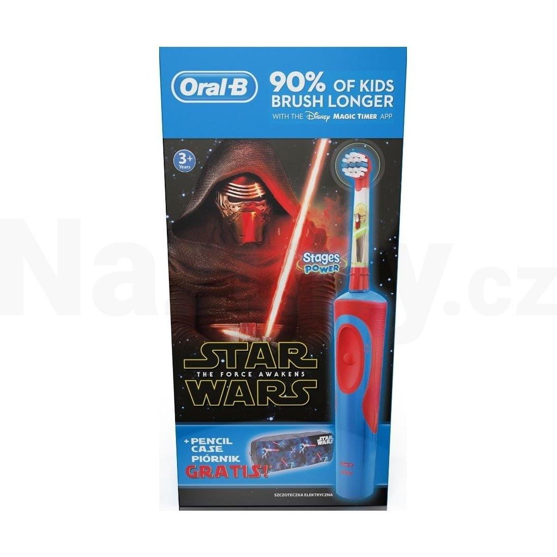 Braun Oral-B Vitality Precision Clean D12.513 + penál STAR WARS, akce 100 dní na vrácení zboží