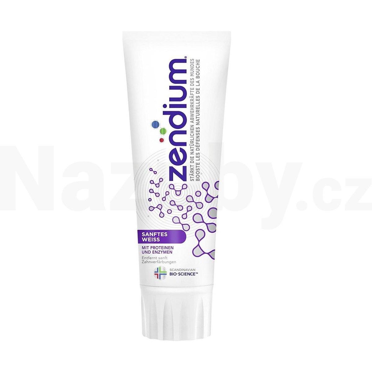 Fotografie Zendium Gentle White 75 ml