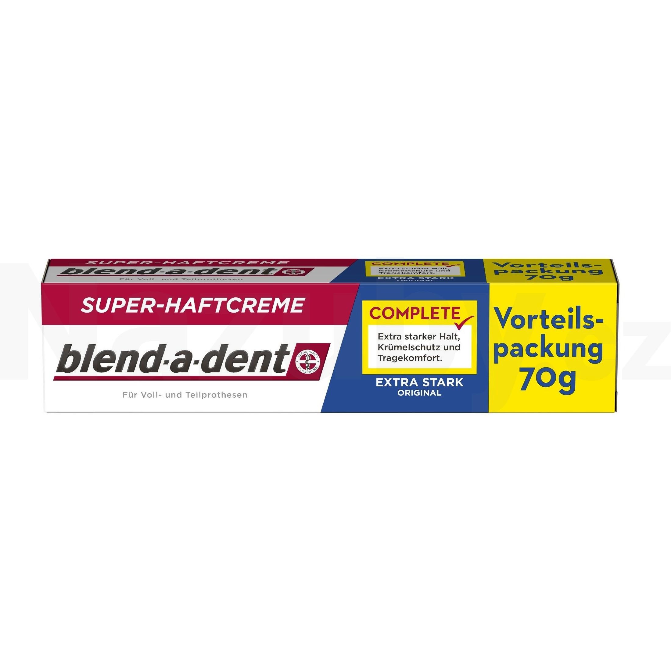 Blend-a-dent Extra Stark fixační krém 70g