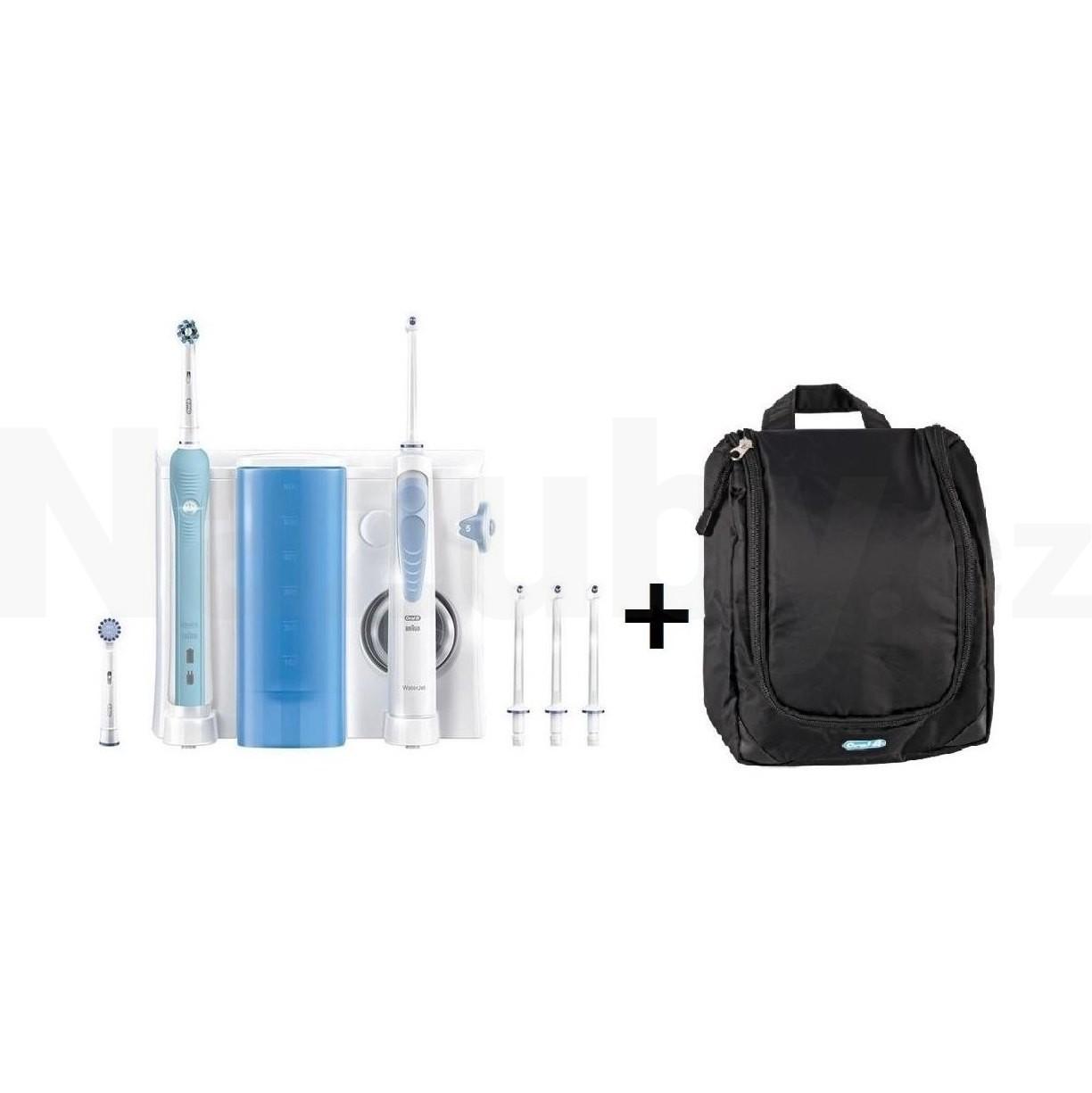 Braun Oral-B WaterJet PRO 700 ústní centrum + kosmetická taška - 100 dní na vrácení zboží