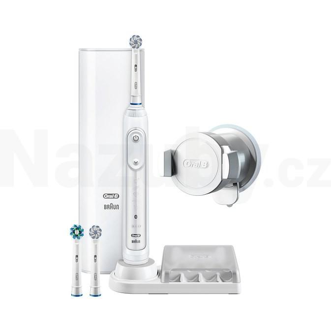 Braun Oral-B Genius 8100S White zubní kartáček - akce 100 dní na vrácení zboží