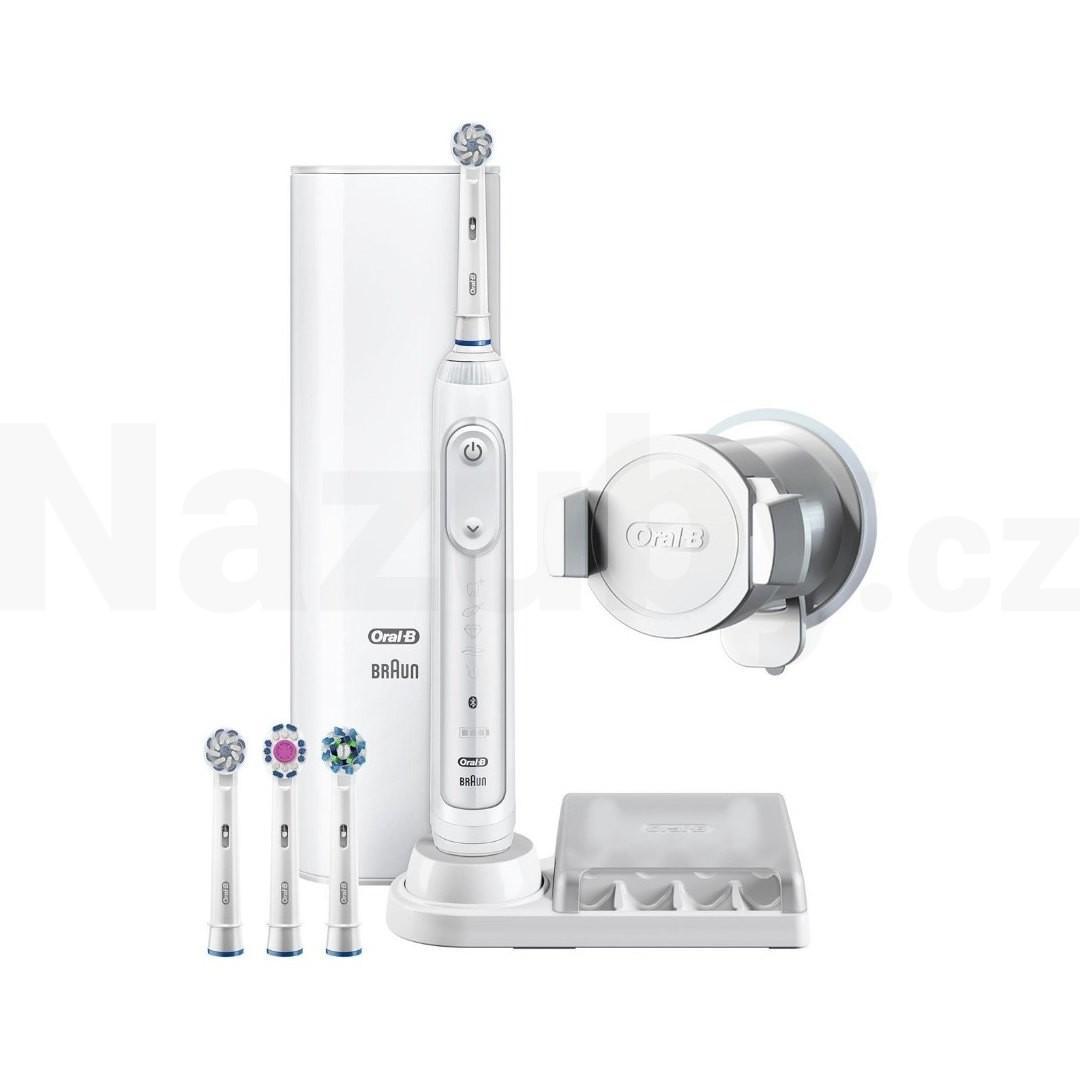 Braun Oral-B Genius 9100S White zubní kartáček - akce 100 dní na vrácení zboží