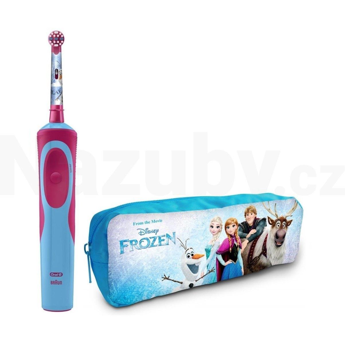 Oral-B Vitality Kids D12K Frozen + penál - 100 dní na vrácení zboží