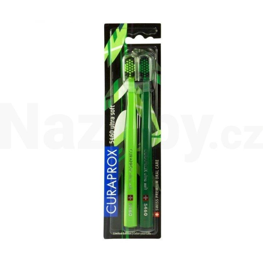 Curaprox CS 5460 Ultrasoft Greenery 2 ks - 100 dní na vrácení zboží