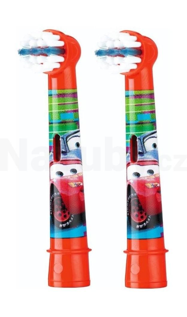 Braun Oral B Stages Kids EB 10-2 MN náhradní kartáčky 2 ks - AUTÍČKO