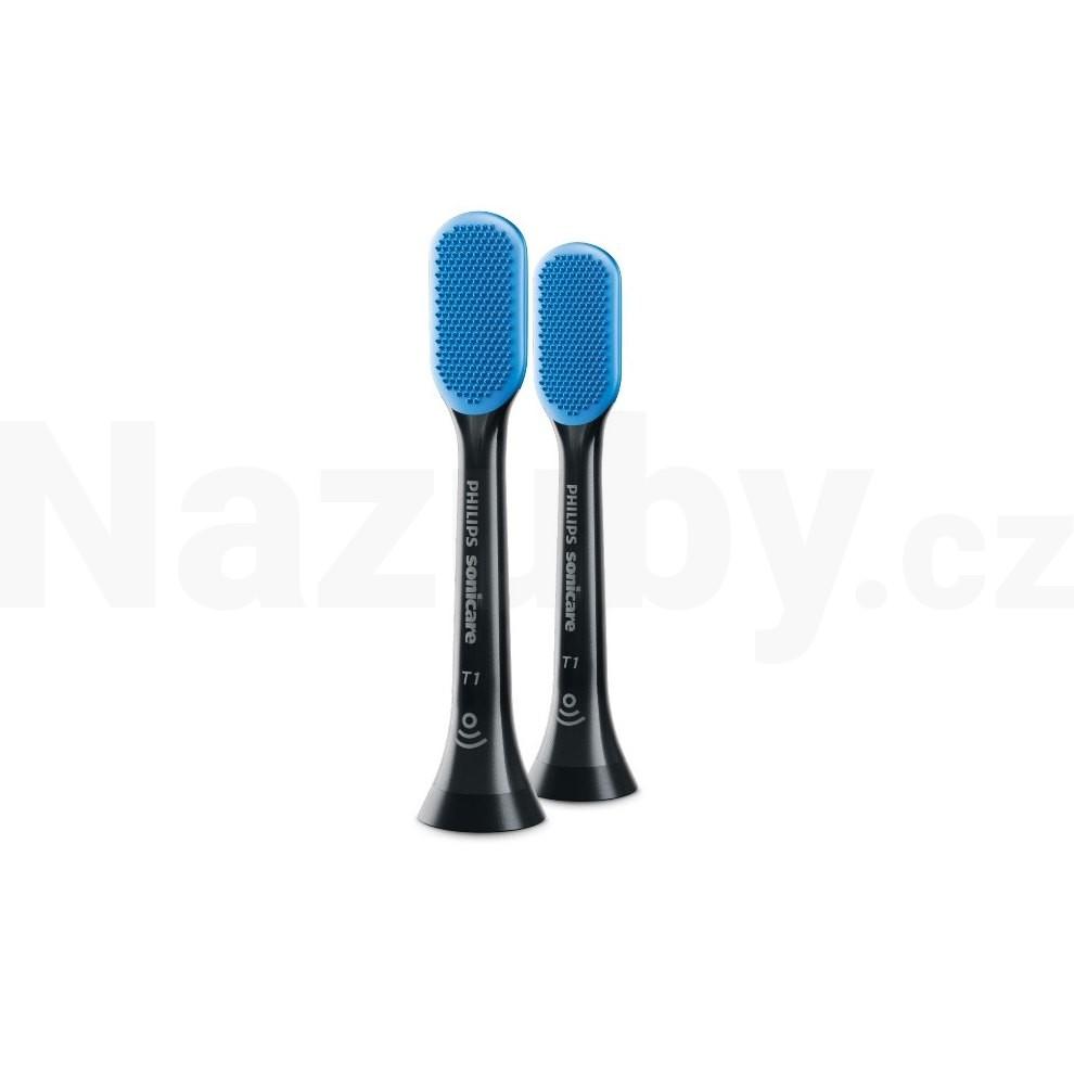 Philips Sonicare TongueCare BLACK HX8072/11 2ks - 100 dní na vrácení zboží