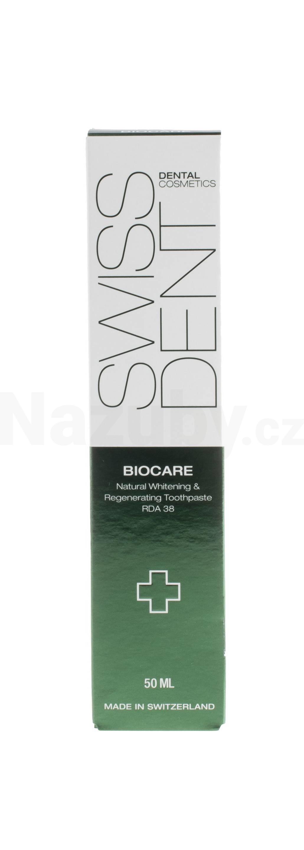 Swissdent regenerační a zesvětlující zubní pasta Biocare Whitening Toothpaste 50 ml - 100 dní na vrácení zboží