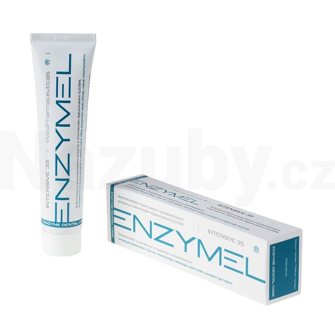 Fotografie Enzymel Intensive 35 antimikrob. zubní pasta 75ml