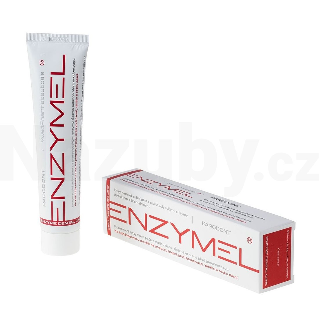 Fotografie Enzymel Parodont s aktivními enzymy 75 ml