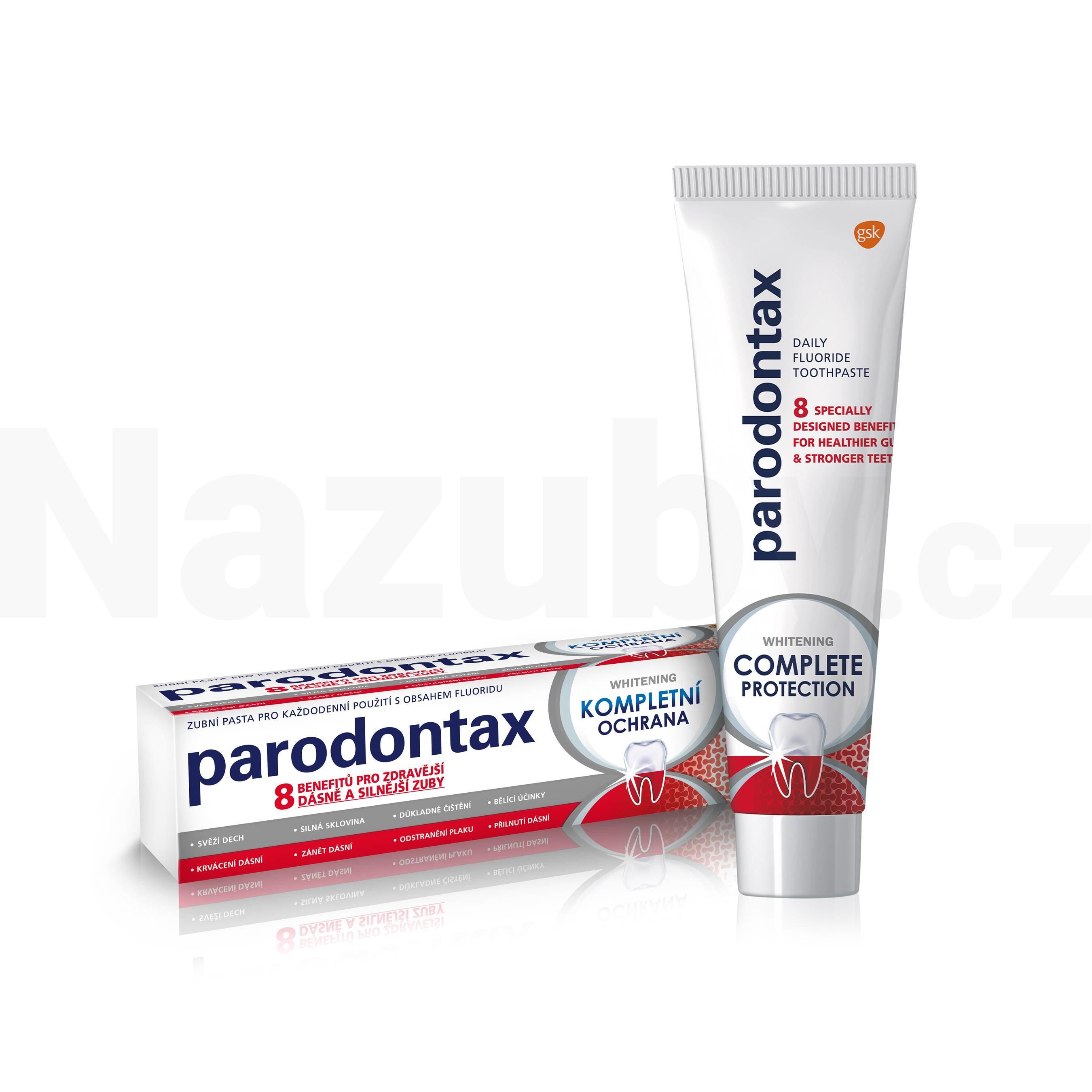 Parodontax Kompletní ochrana whitening 75 ml