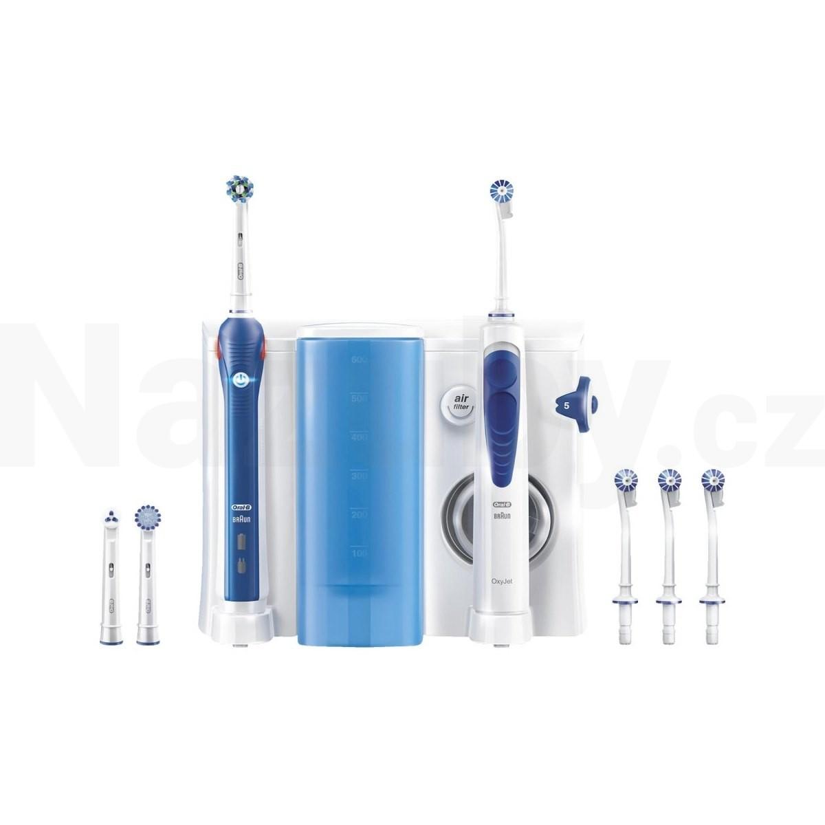 Oral-B Oxyjet + PRO 2000 - 100 dní záruka vrácení peněz