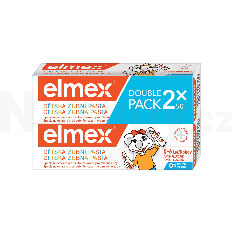 Elmex Dětská zubní pasta Kids Duopack 2 x 50 ml 2x50 ml