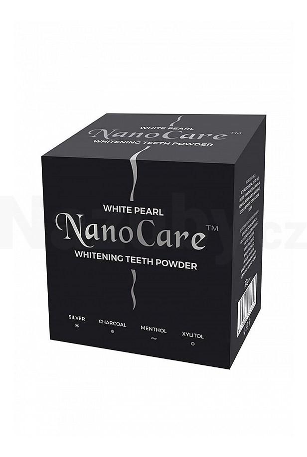 VitalCare Bělicí pudr na zuby s nano technologií (Whitening Teeth Powder) 30 g