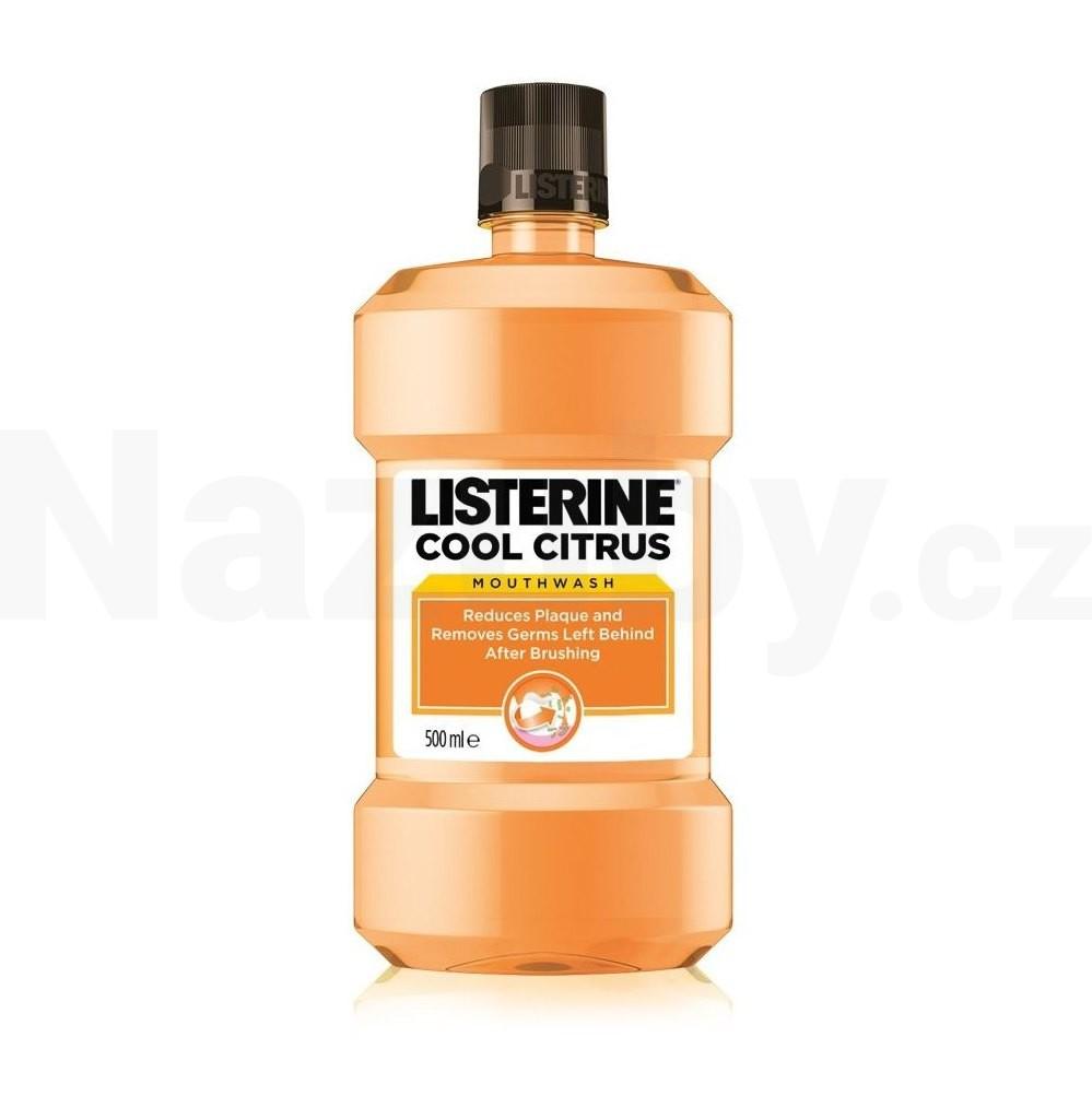 Listerine Cool Citrus ústní voda 500 ml