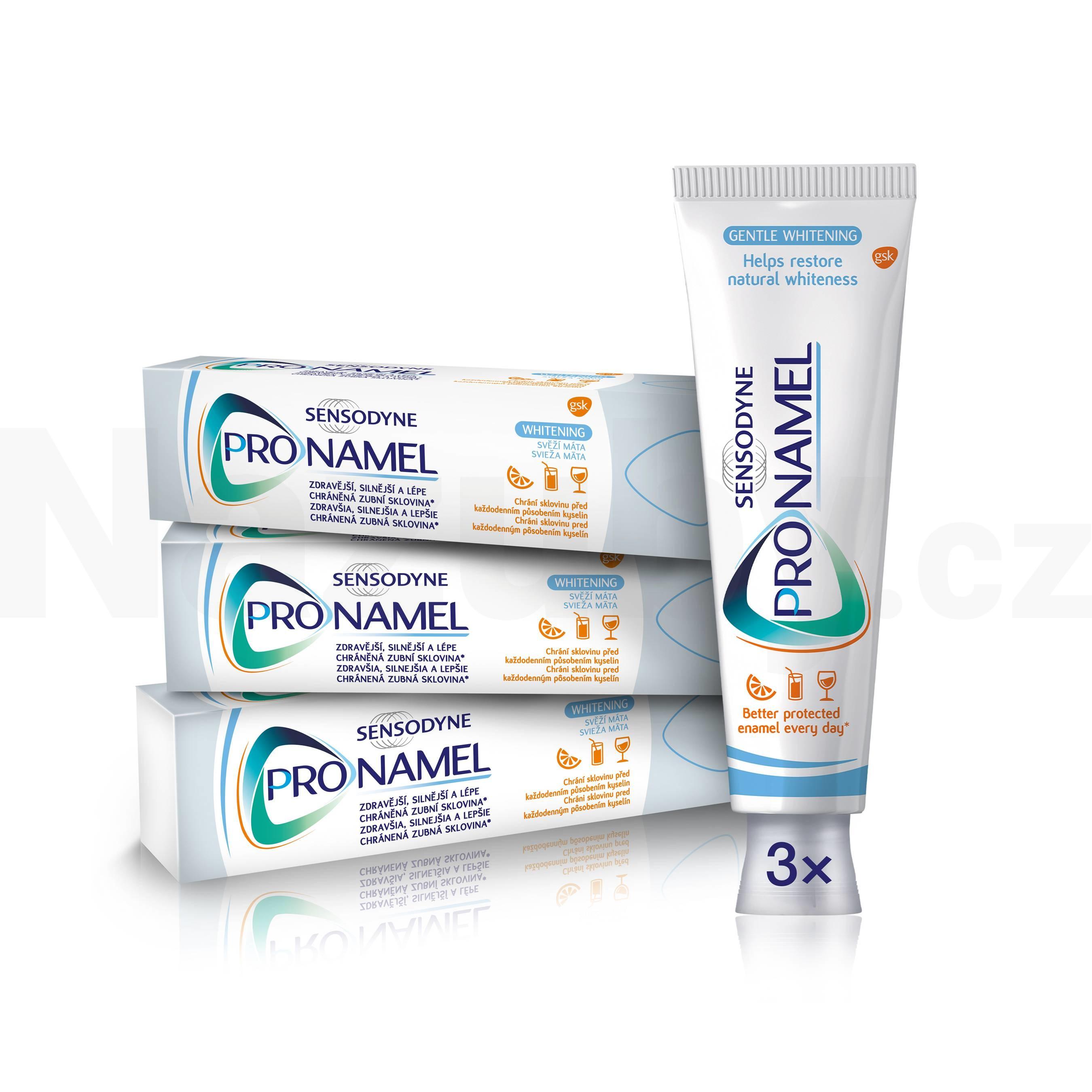 Sensodyne Pronamel Whitening 75 ml výhodné balení 3×75 ml