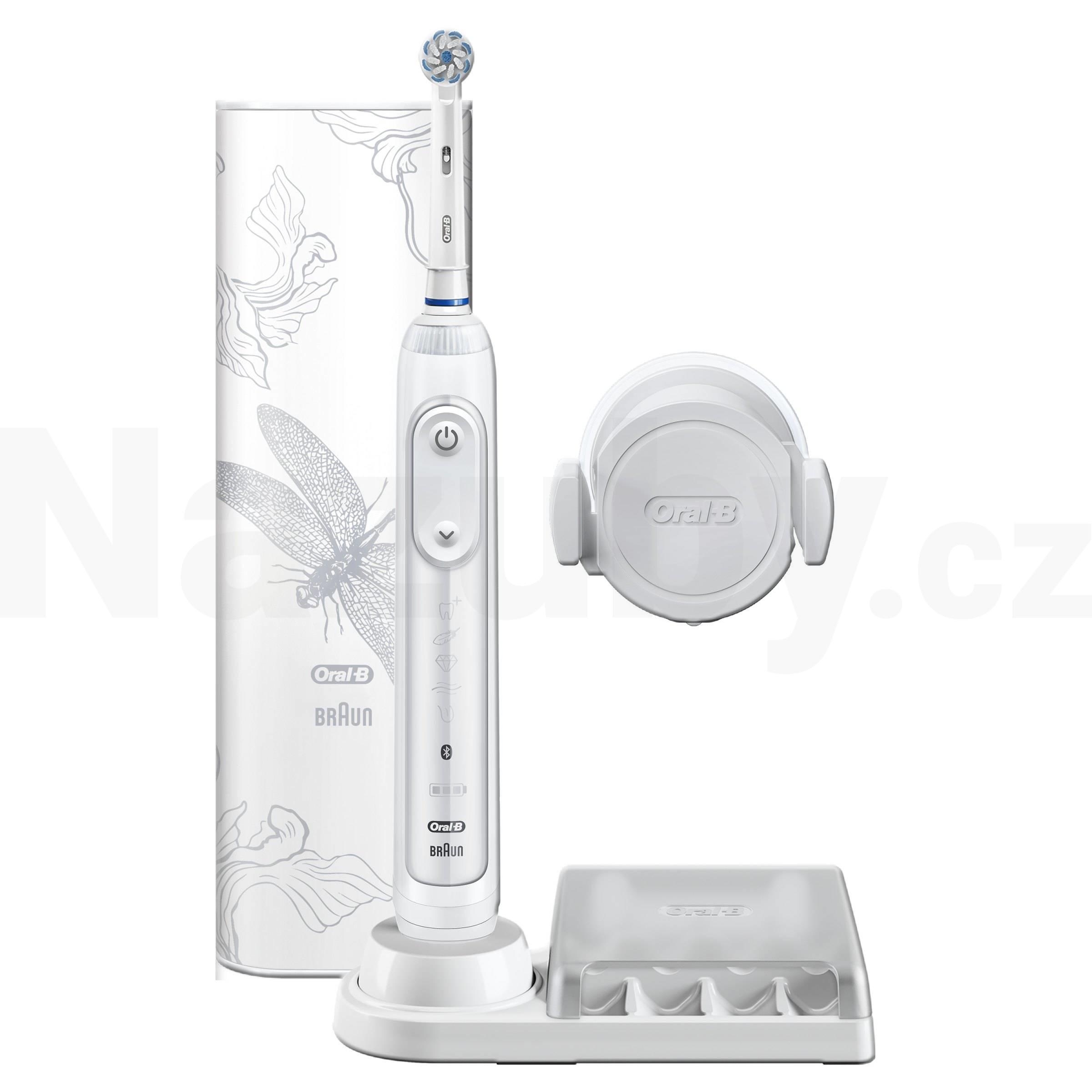 Braun Oral-B Genius 10000N Lotus White Special Edition - 100 dní záruka vrácení peněz