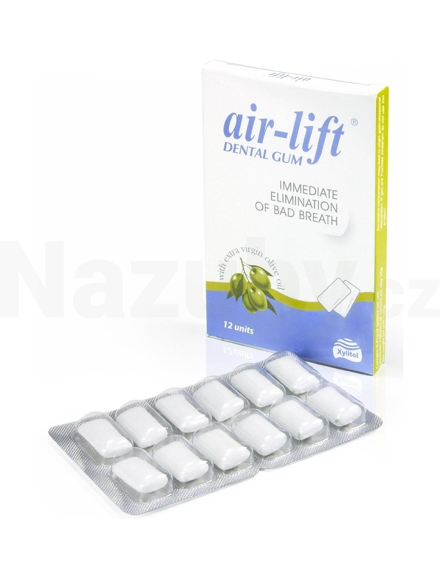 Air-Lift Svěží dech Dentální žvýkačky 10ks (nové balení 12 ks)