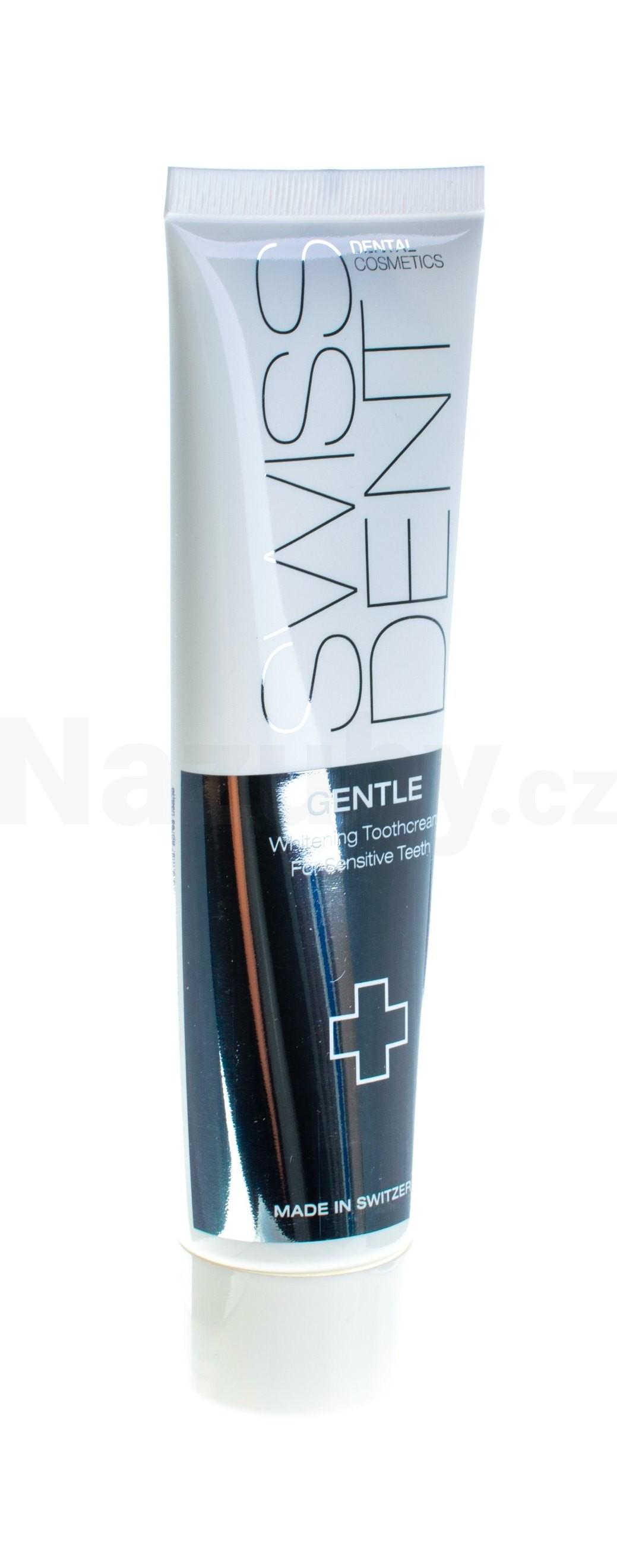 SWISSDENT GENTLE Whitening Toothpaste - Enzymatická bělící pasta pro každodenní použití 100 ml