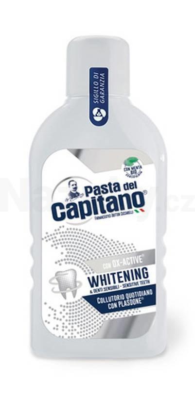 Pasta del Capitano Whitening OX-ACTIVE bělící ústní voda 400 ml