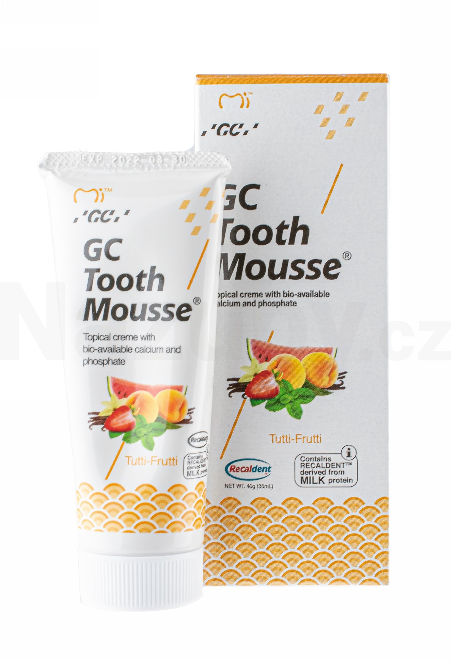 GC Tooth Mousse Tutti-Frutti 35 ml