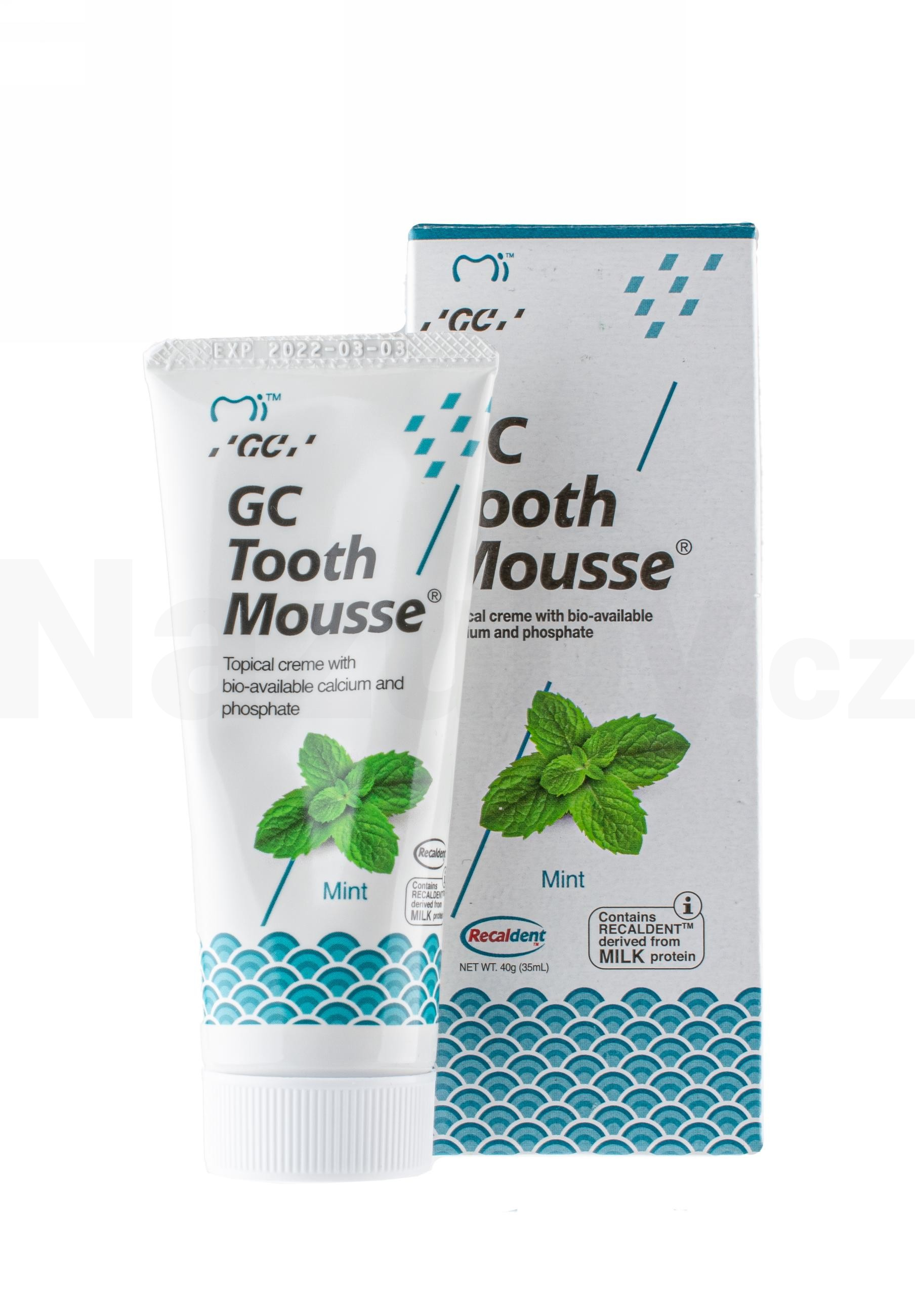 GC Tooth Mousse Máta 35 ml