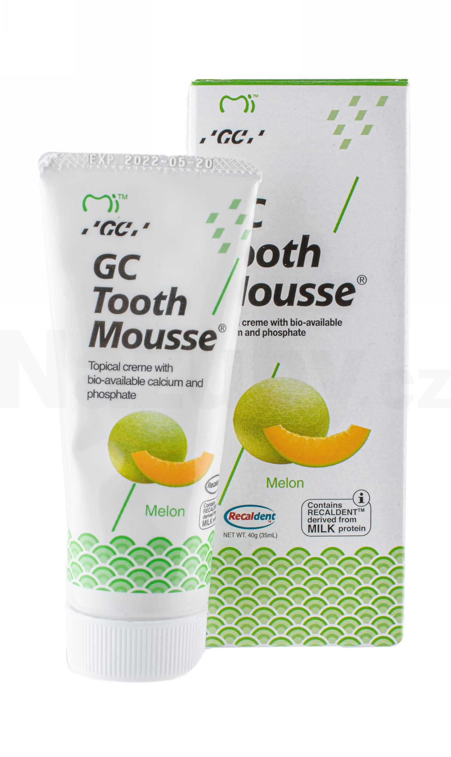 GC Tooth Mousse Meloun 35 ml