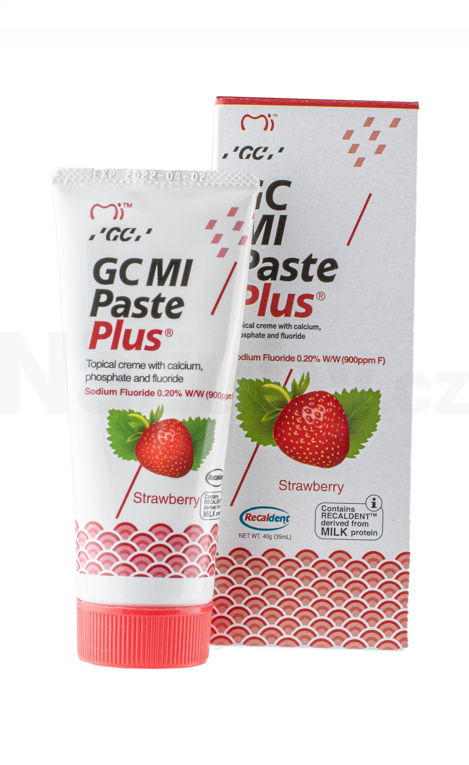 GC MI Paste Plus Jahoda 35 ml